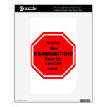 ¡Pare el Obamanation! Calcomanía Para NOOK Color