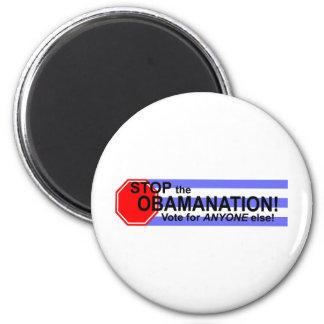 ¡Pare el Obomanation! Imán Redondo 5 Cm
