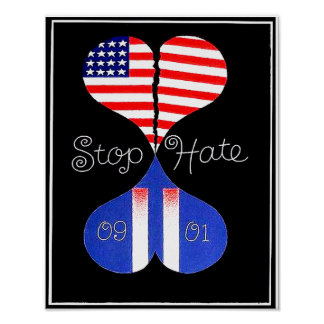 Pare el odio poster