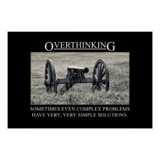 Pare el overthinking de las soluciones a los probl impresiones