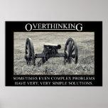 Pare el overthinking de las soluciones a los probl posters