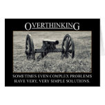 Pare el overthinking de las soluciones a los probl tarjetas