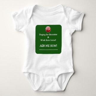 Pare el pagar los ultramarinos mameluco de bebé