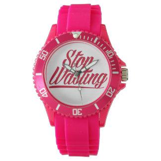 Pare el perder de tiempo relojes