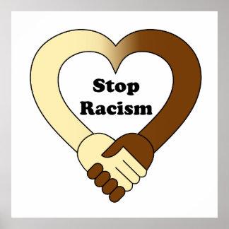 Pare el poster del racismo