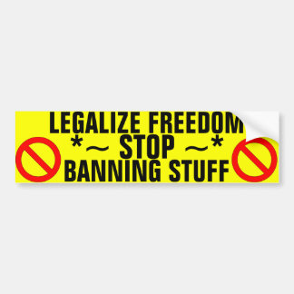 Pare el prohibir de la materia pegatina de parachoque