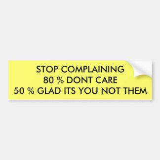 Pare el quejarse