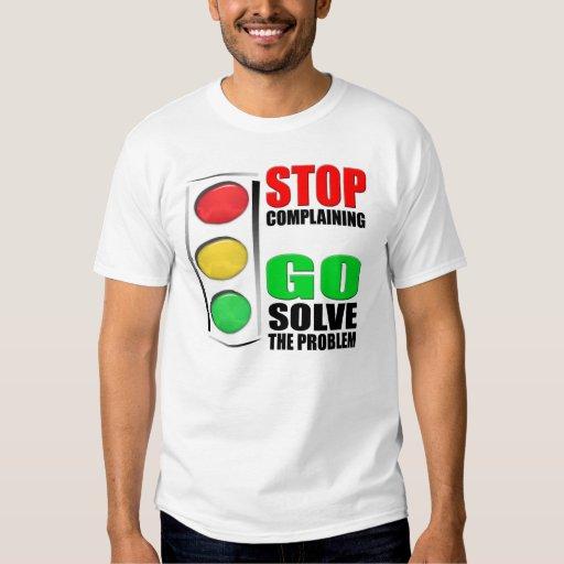 Pare el quejarse playeras