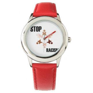 Pare el racismo relojes de mano