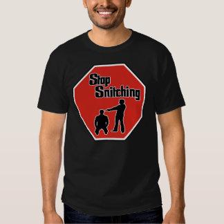 Pare el ratear --- Camiseta Playeras
