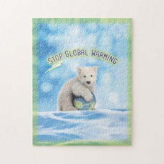 Pare el rompecabezas del oso polar del