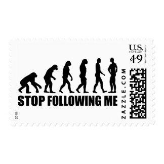 Pare el seguir de mí evolución sellos