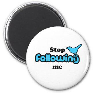Pare el seguir de mí iman de nevera