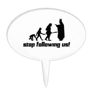 ¡Pare el seguir de nosotros! Decoraciones De Tartas