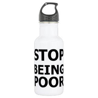 Pare el ser pobre