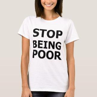 Pare el ser pobre playera