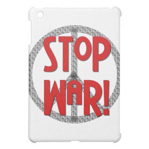 Pare el símbolo y los regalos de paz de la guerra