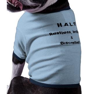 PARE el suéter agitado irritable y del descontent Camisa De Perro