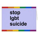 pare el suicidio del lgbt felicitaciones
