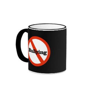 Pare el tiranizar de la taza de café