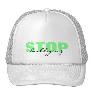 Pare el tiranizar del gorra simple verde
