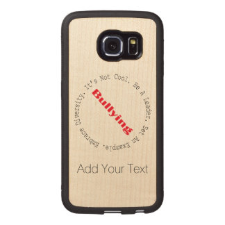 Pare el Tiranizar-Esquema de Shirley Taylor Fundas De Madera Para Samsung S6 Edge