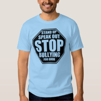 Pare el tiranizar (la manga corta unisex azul) camisas