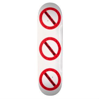 Pare el Tiranizar-Logotipo de Shirley Taylor Monopatin Personalizado