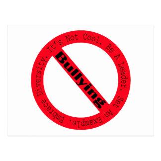 Pare el Tiranizar-Logotipo de Shirley Taylor Tarjetas Postales