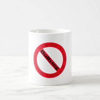 Pare el Tiranizar-Logotipo Taza Básica Blanca