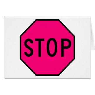 Pare el tráfico de la precaución del símbolo de la tarjetón
