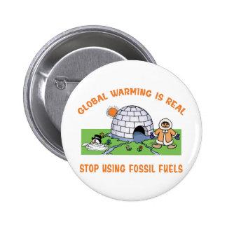 Pare el usar de los combustibles fósiles pin