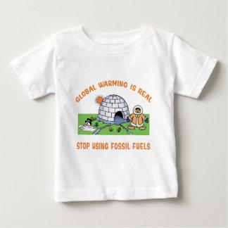 Pare el usar de los combustibles fósiles playera