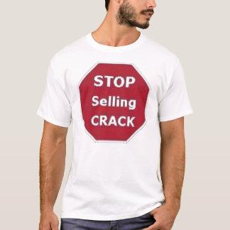 Pare el vender de la camiseta de la grieta