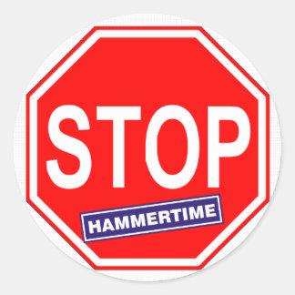 Pare Hammertime Pegatina Redonda