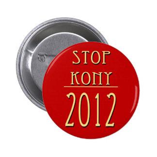 Pare Kony 2012 Pin Redondo 5 Cm
