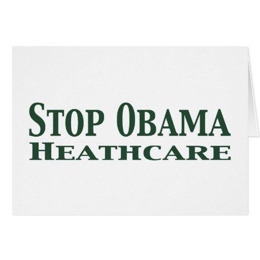 Pare la atención sanitaria de Obama Felicitaciones