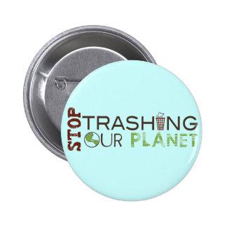 Pare la basura pins