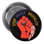 Pare la brutalidad policial pin redondo 7 cm