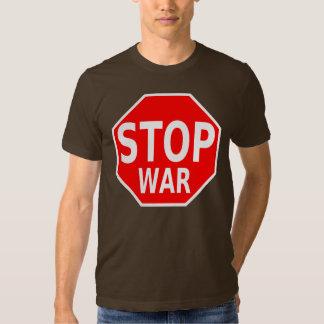 Pare la camisa de la guerra de la parada de la