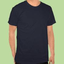 Pare la camiseta oscura china de la guerra playeras