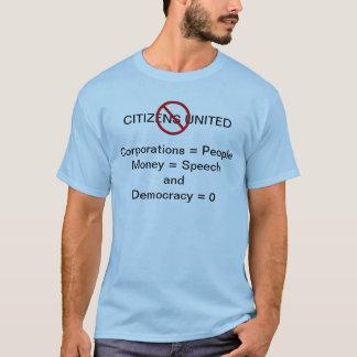 Pare la camiseta unida los ciudadanos