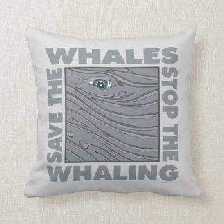 Pare la caza de ballenas, ballenas de la reserva almohada