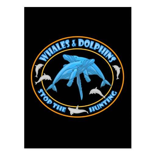 Pare la caza de la ballena postales