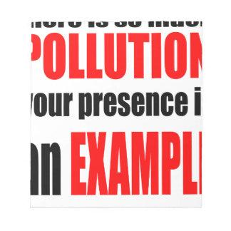 pare la contaminación protegen valent anti de la libreta para notas
