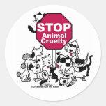 Pare la crueldad animal etiquetas