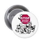 Pare la crueldad animal pins