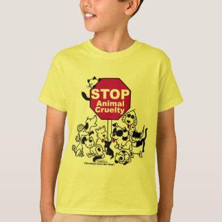 Pare la crueldad animal remeras