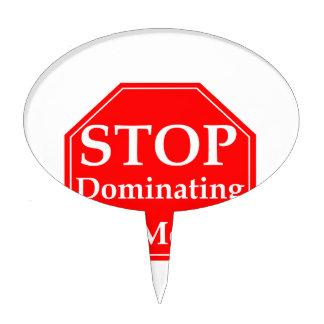 Pare la dominación figuras para tartas