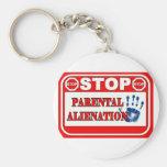 Pare la enajenación parental llaveros